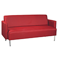 HPFI® Eve Lounge Seating - Arm Sofa, Leather
