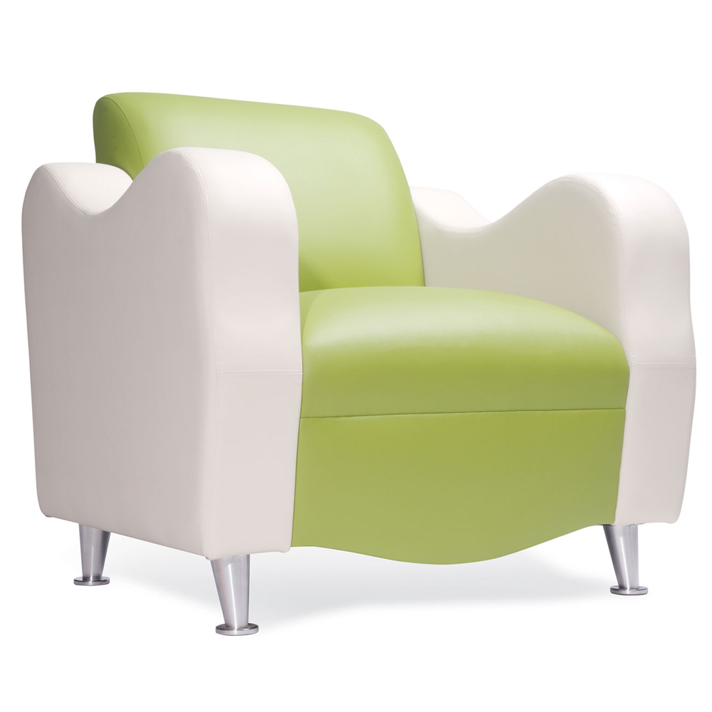 HPFI® Claudia Lounge Seating - Leather Club Chair
