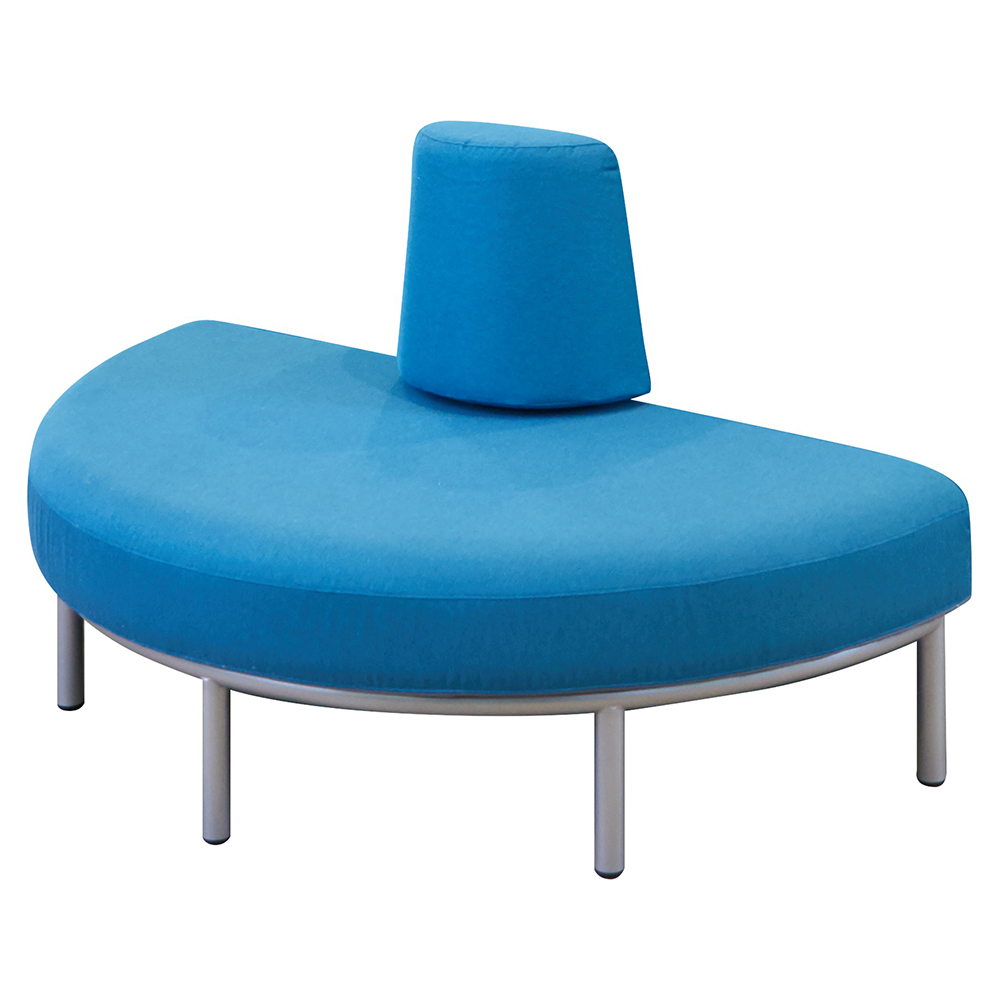 HABA® Rebello® Casual Seating - Half Cirlce Sofa, Fabric