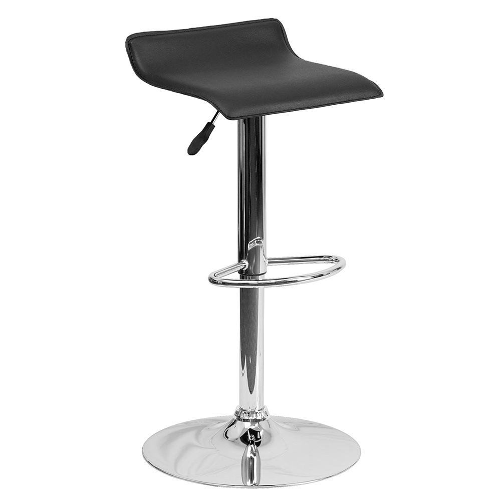Contemporary Vinyl Cafe Stool -  Free Shipping!