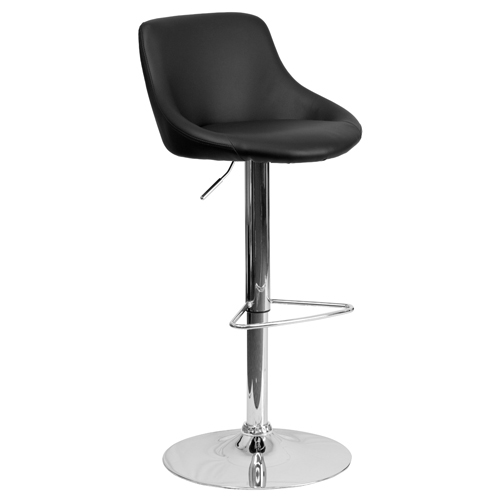 Free Shipping!   Bucket Vinyl Cafe Chair