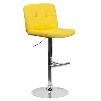 Executive Tufted Vinyl Cafe Chair