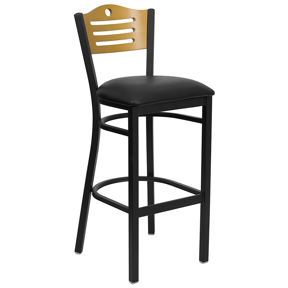 Hercules Slat Back Cafe Chair -  Free Shipping!