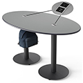 SMITH SYSTEM™ Double Oval Cafe Table - 29