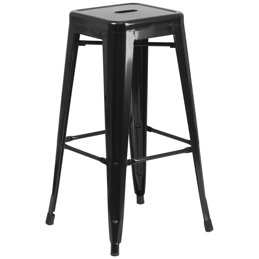 """Free Shipping!   30"""" Metal Indoor/Outdoor Backless Stool"""