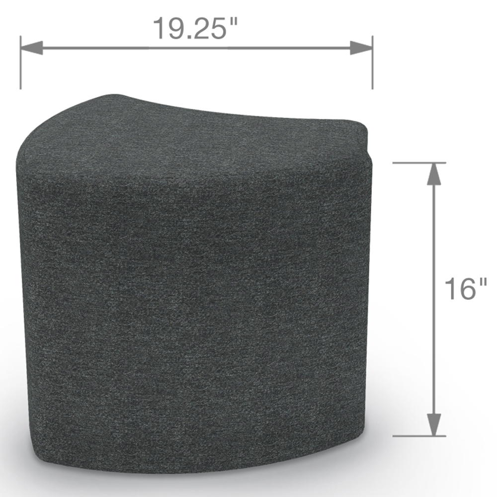 MooreCo® Economy Shape - Wedge Stool