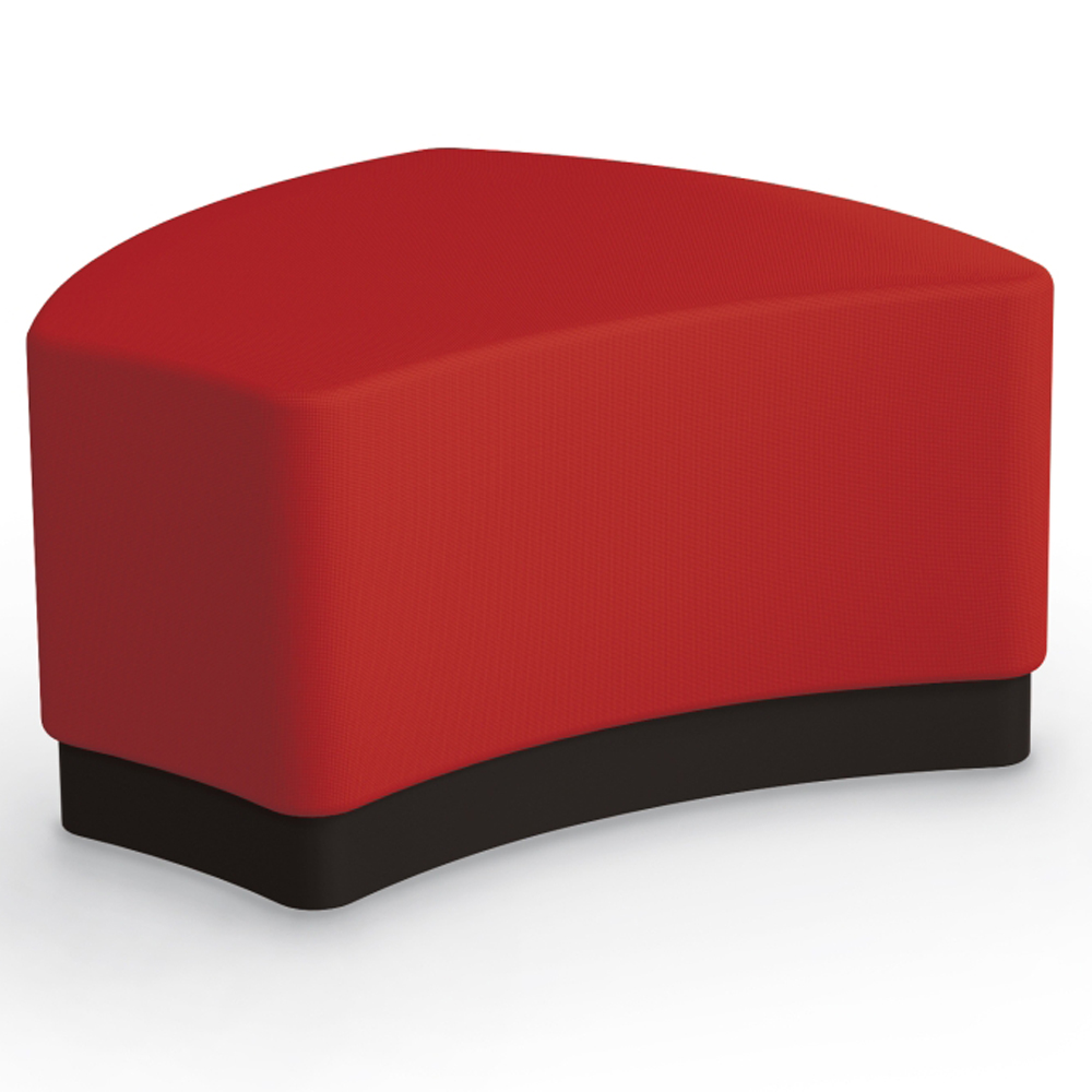 MooreCo® Configurable Soft Seating - Shape with Upholstered Seat, Fabric