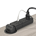 MooreCo® Pop-Up Grommet Outlet & USB Charger