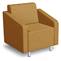 MooreCo® Modular Soft Seating Collection - Arm Chair, Fabric