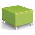 MooreCo®Modular Soft Seating Collection - Bench, Fabric