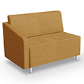 MooreCo®Modular Soft Seating Collection - Right Arm Loveseat, Fabric