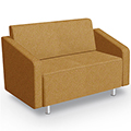 MooreCo® Modular Soft Seating Collection - Loveseat, Fabric