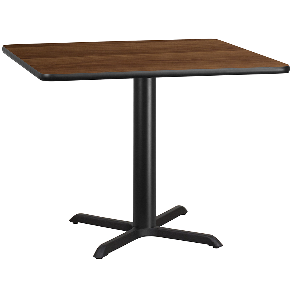 """X-Base Standard Height Cafe Table - 31-1/8""""H x 42"""" Square"""