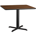 X-Base Standard Height Cafe Table - 31-1/8