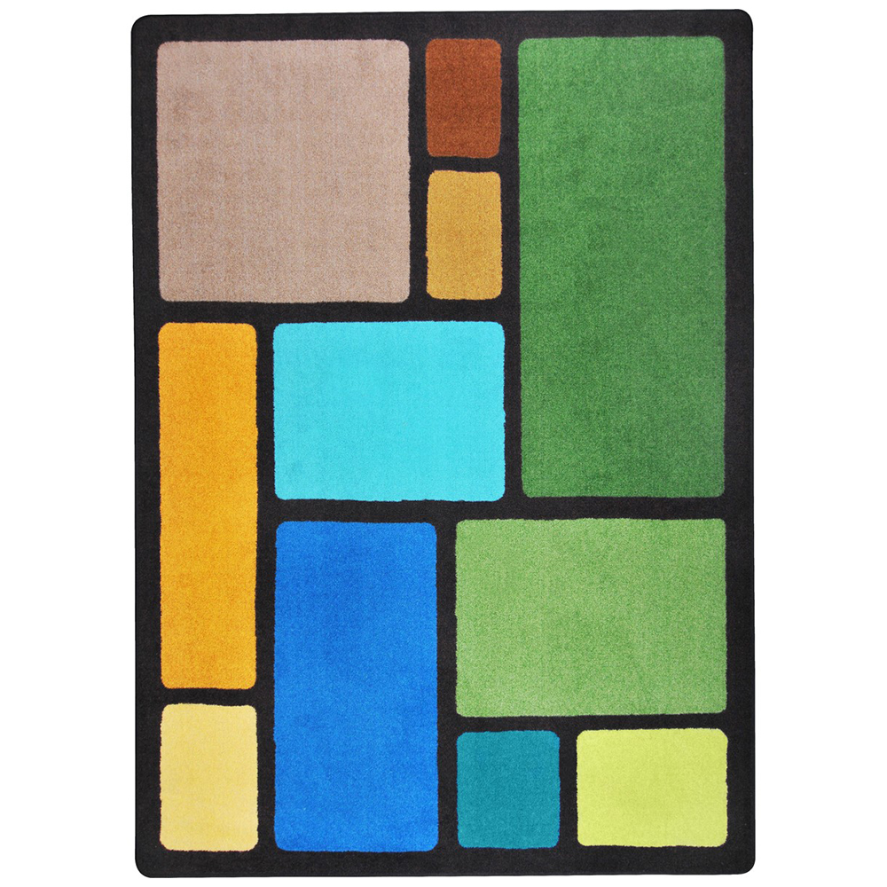 Joy Carpets Our Block™ Teen Area Rugs