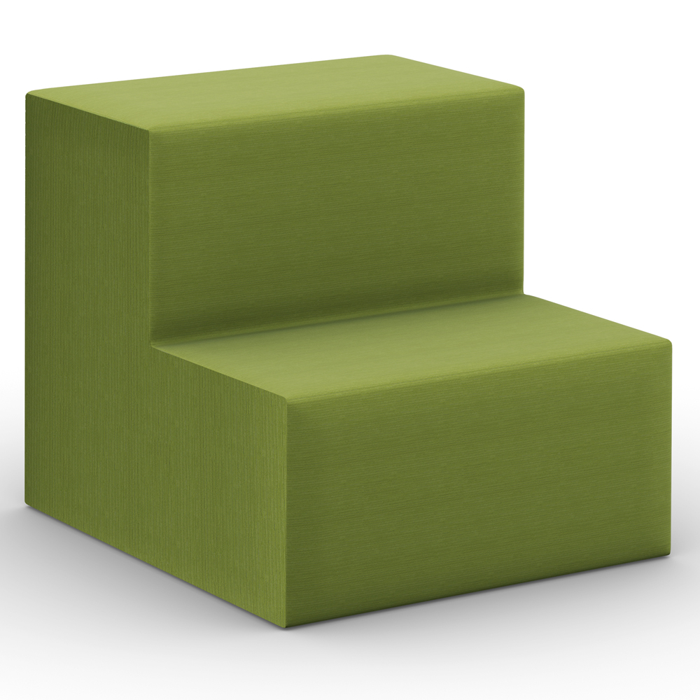HPFI® Flex Tiered Seating - 2-Tier Linear Seat, Fabric