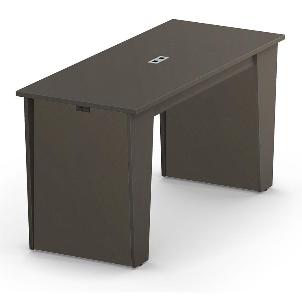 "HPFI® Matrix Social Tables - Rectangle Top with Power, 42""H x 72""W x 24""D"