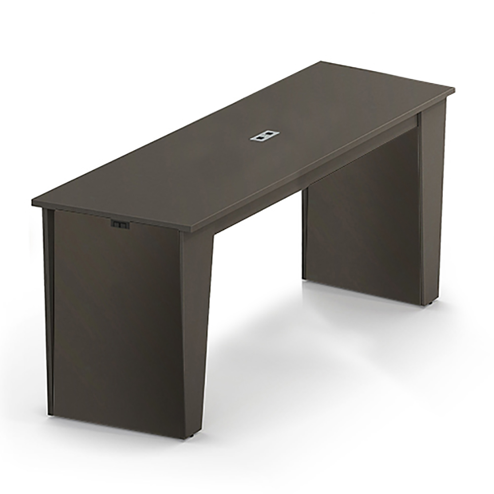 "HPFI® Matrix Social Tables - Rectangle Top with Power, 42""H x 96""W x 24""D"