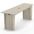 HPFI® Matrix Social Tables - Tapered Top with Power, 42