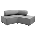 HABA® Boomerang Modular Seating - Sofa, Synthetic Leather