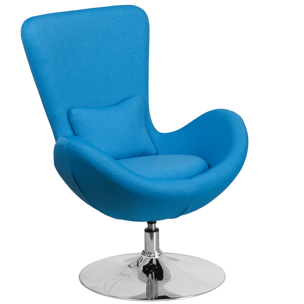 Egg Side Lounge Chair - Fabric