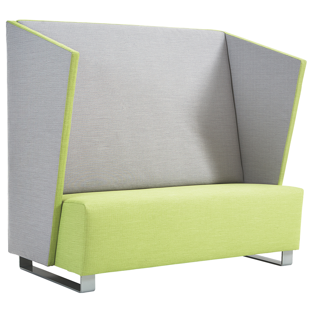 HABA® High-Back Lounge Seat with Side Panels, Fabric