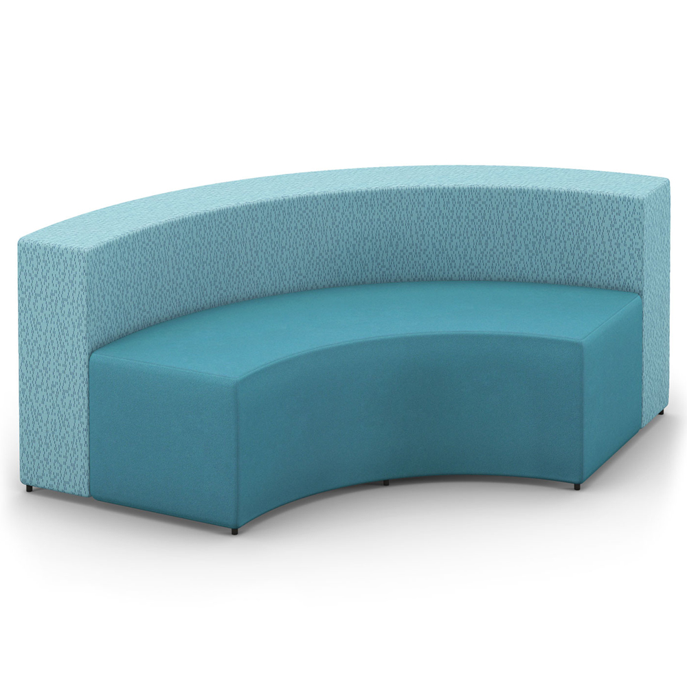 HPFI® Relax Modular Lounge Seating - Inside Facing Arc/Sette, Fabric