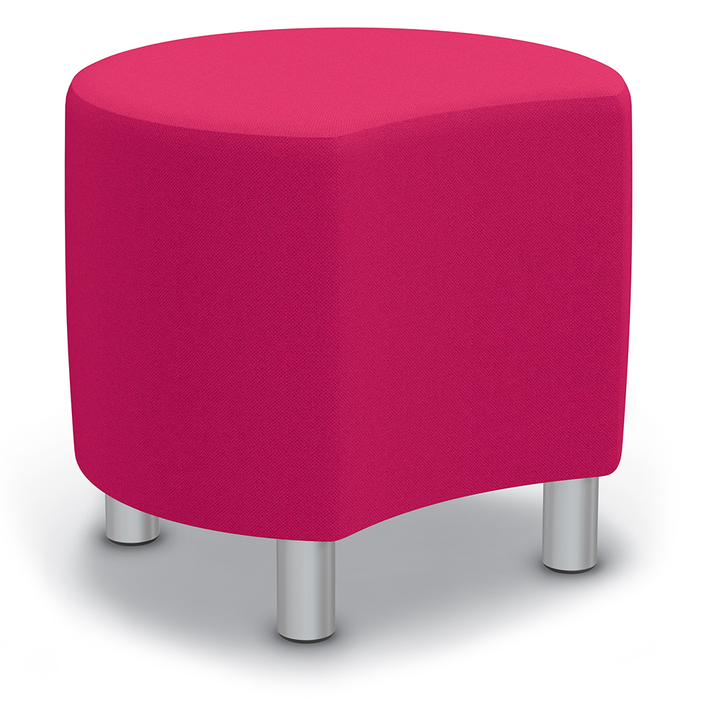 """Best-Rite® Blossom Seating - 18""""H x 16"""" Diameter Stool with Legs"""