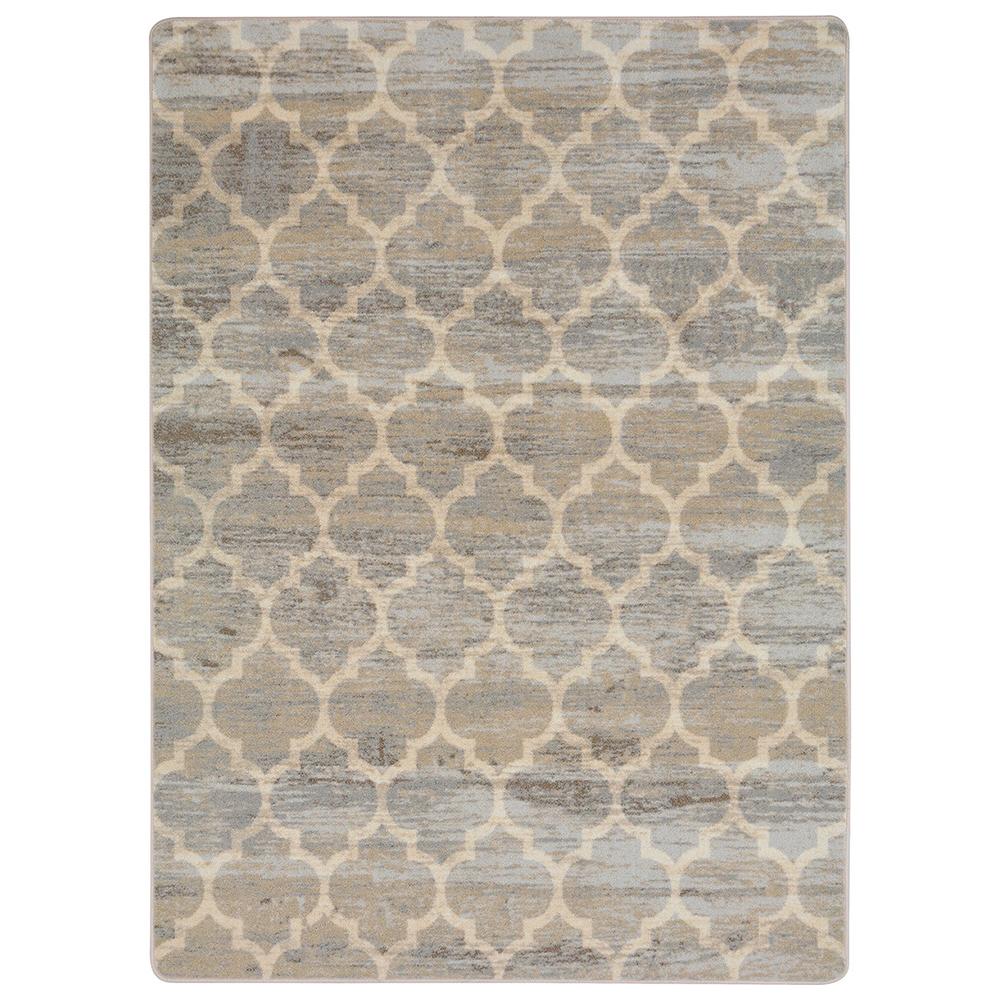 "Joy Carpets Antique Trellis™ Teen Area Rug - 5 ft. 4"" x 7 ft. 8"""
