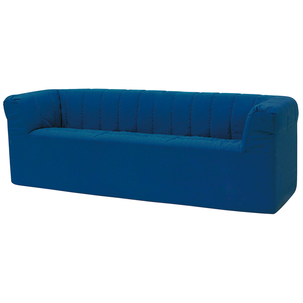 """HABA® After School Lounge Seating - 15""""H 3-Seater Sofa, Synthetic Leather"""