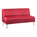 HPFI® Eve Lounge Seating - Armless Sofa, Fabric