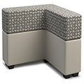 Russwood® Connect Lounge Seating - L-Shaped Tall Back