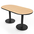 SMITH SYSTEM™ Racetrack Table - 29 x 72 x 36