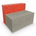MooreCo® Elevate Wind Tiered Soft Seating - Loveseat, Fabric