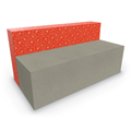 MooreCo® Elevate Wind Tiered Soft Seating - Sofa, Fabric