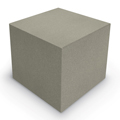 MooreCo® Elevate Wind Tiered Soft Seating - Cube Ottoman, Fabric