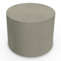 MooreCo® Elevate Wind Tiered Soft Seating - 24 Round Ottoman, Fabric