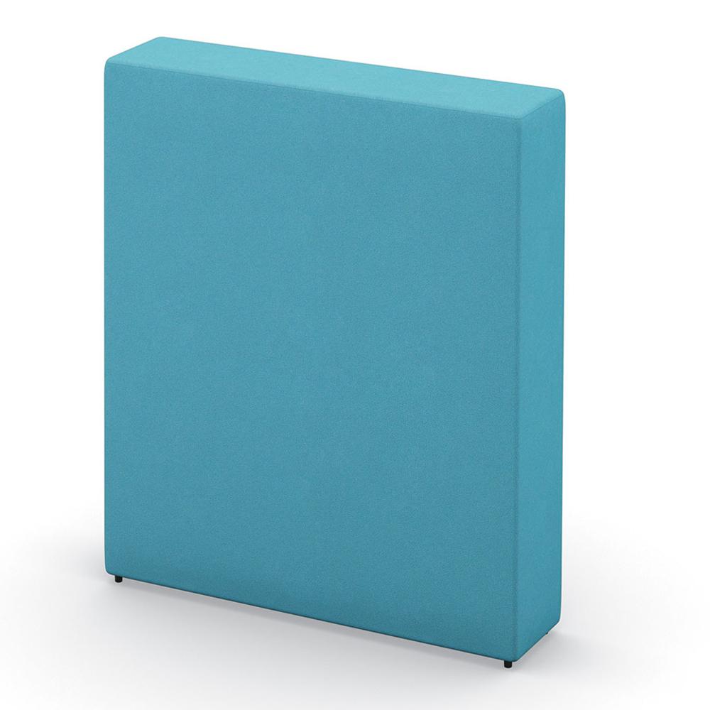 "HPFI® Flex Tiered Seating Accessories - 40-1/2""W Flex Wall, Leather"