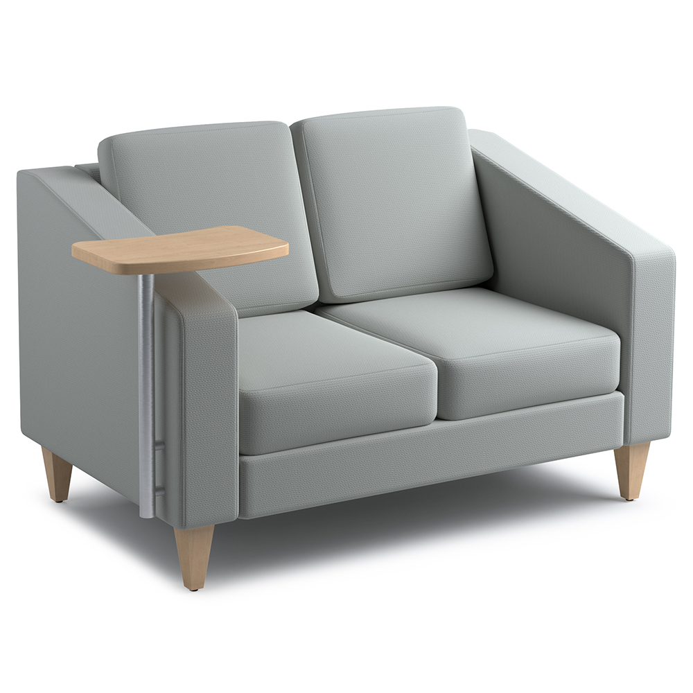 Russwood® Jax Loveseat with Tablet, Fabric