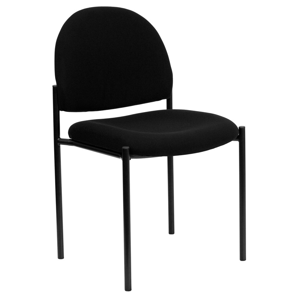 Fabric Stackable Steel Side Chair