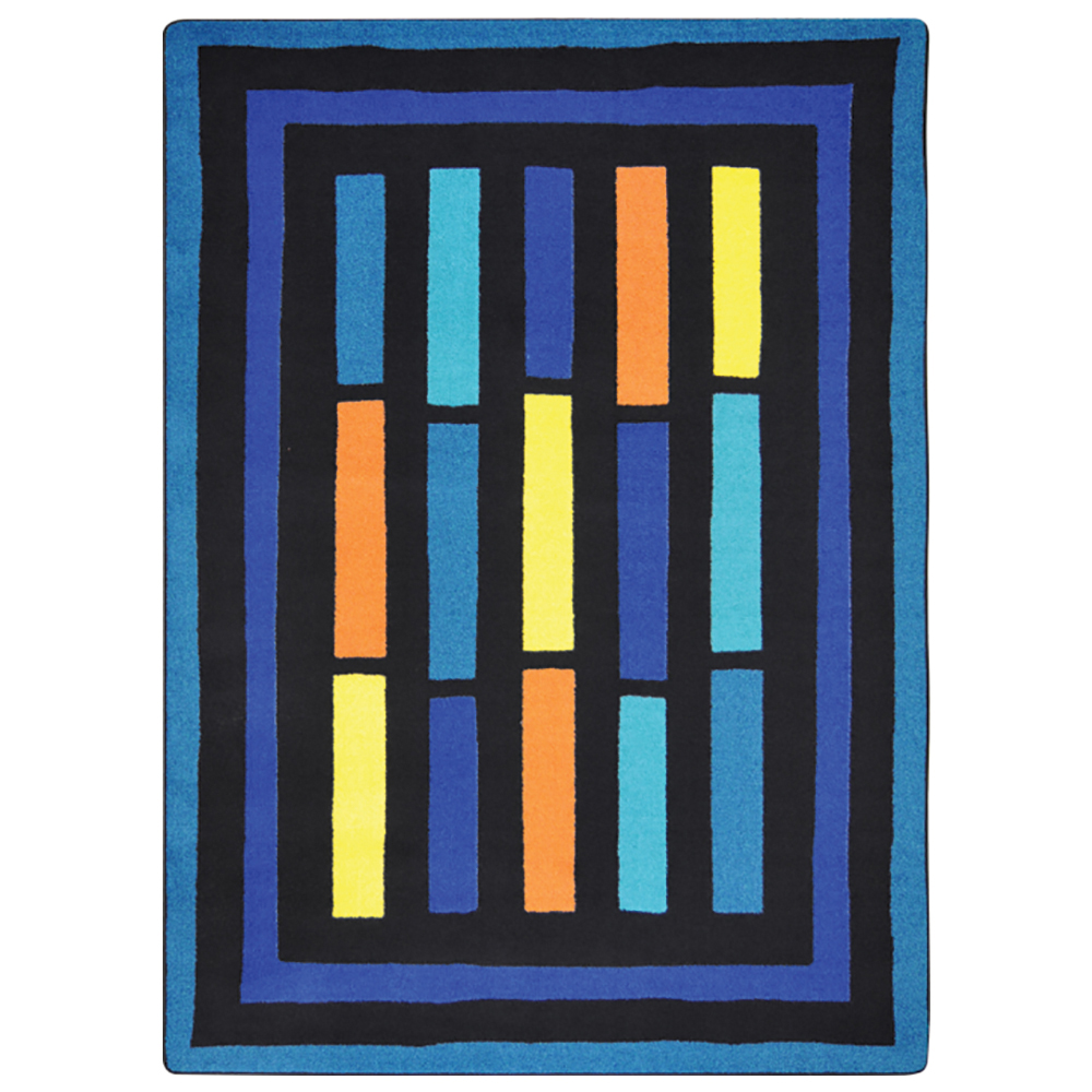 "Joy Carpets Traffic Jam™ Teen Area Rug - 7 ft. 8"" x 10 ft. 9"""