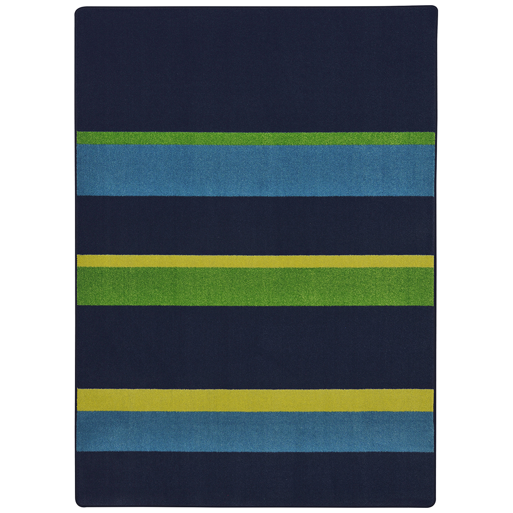 Joy Carpets Straight and Narrow™ Teen Area Rugs