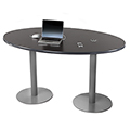 SMITH SYSTEM® Double Oval Cafe Table