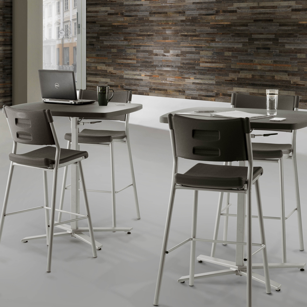 National Public Seating Cafe Time Stool
