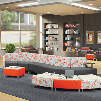 MooreCo®Modular Soft Seating Collection