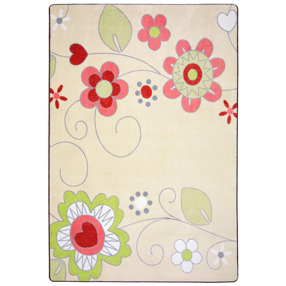 Joy Carpets Pretty Posies™ Teen Area Rugs