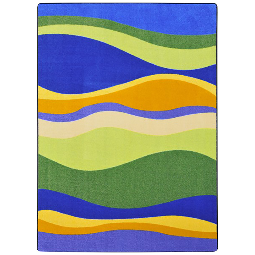 Joy Carpets Riding Waves™ Teen Area Rugs