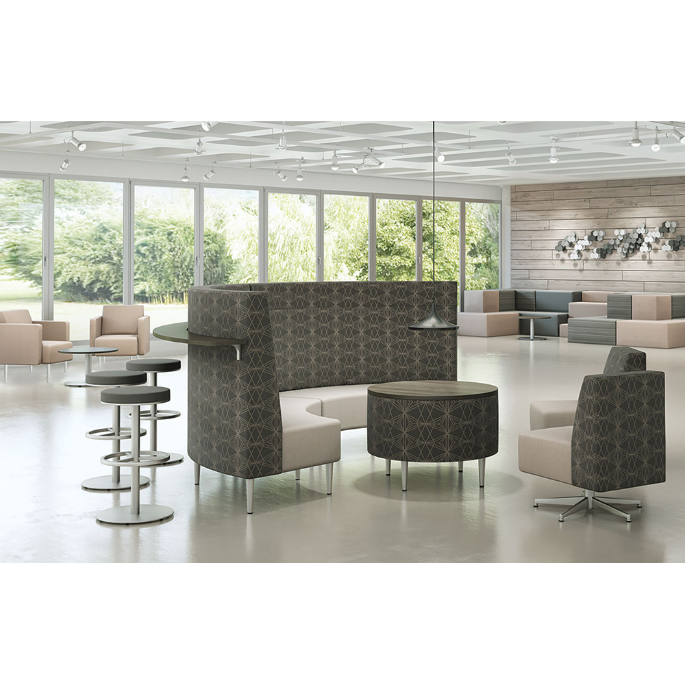 HPFI® Eve Curved Lounge Seating