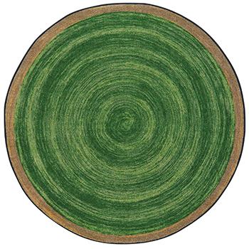 Joy Carpets Feeling Natural Area Rug 5 Ft 4 Round