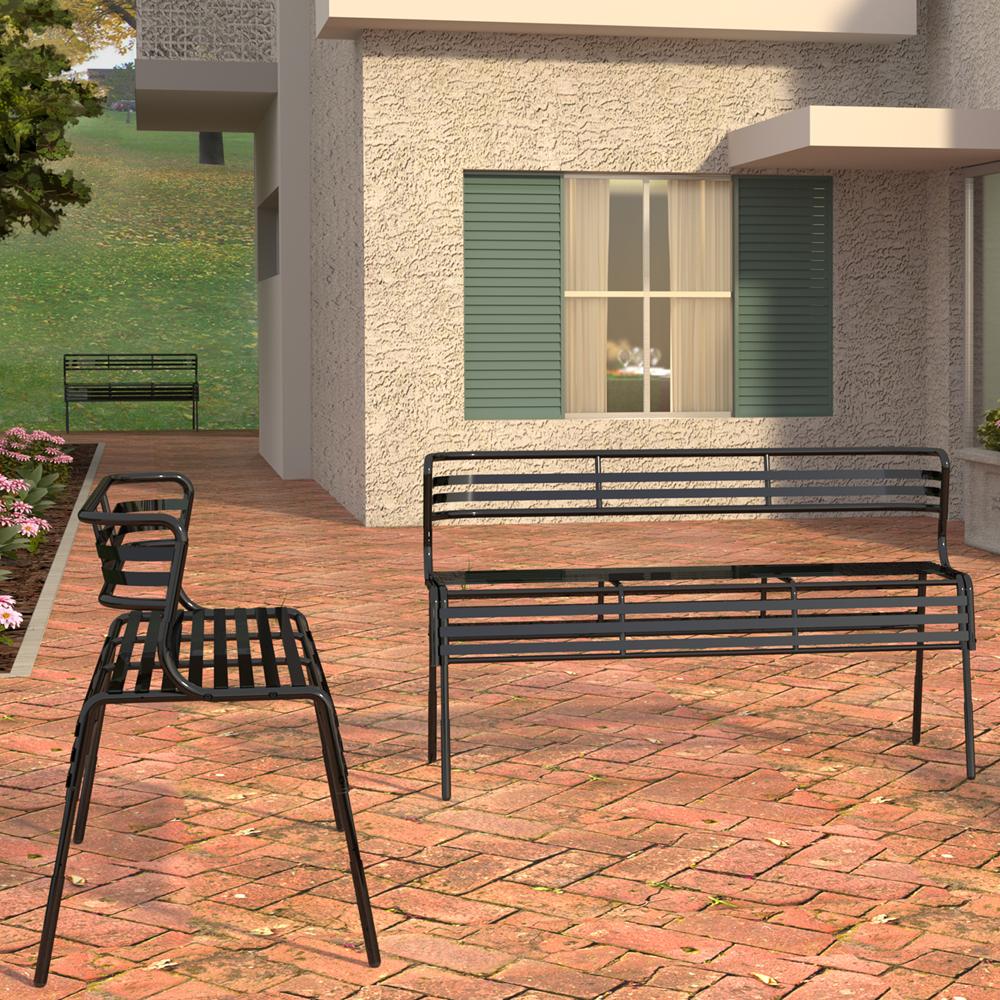 SAFCO® CoGo™ Steel Outdoor/Indoor Seating